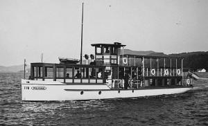 Wörtherseeschiff Wulfenia 1930er Jahre