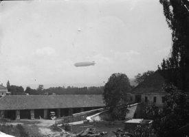 Zeppelin über Krumpendorf